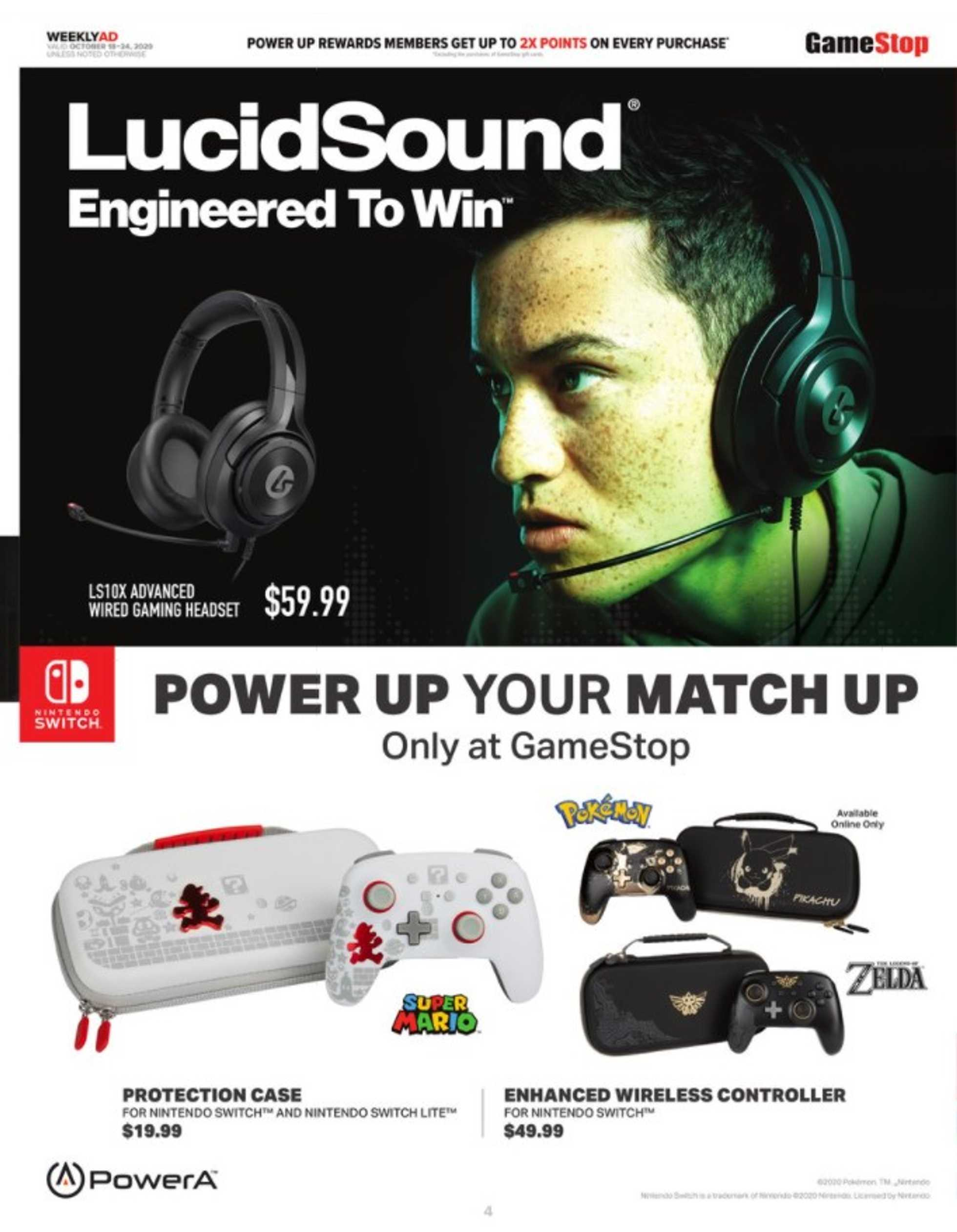 GameStop - deals are valid from 10/18/20 to 10/24/20 - page 3.