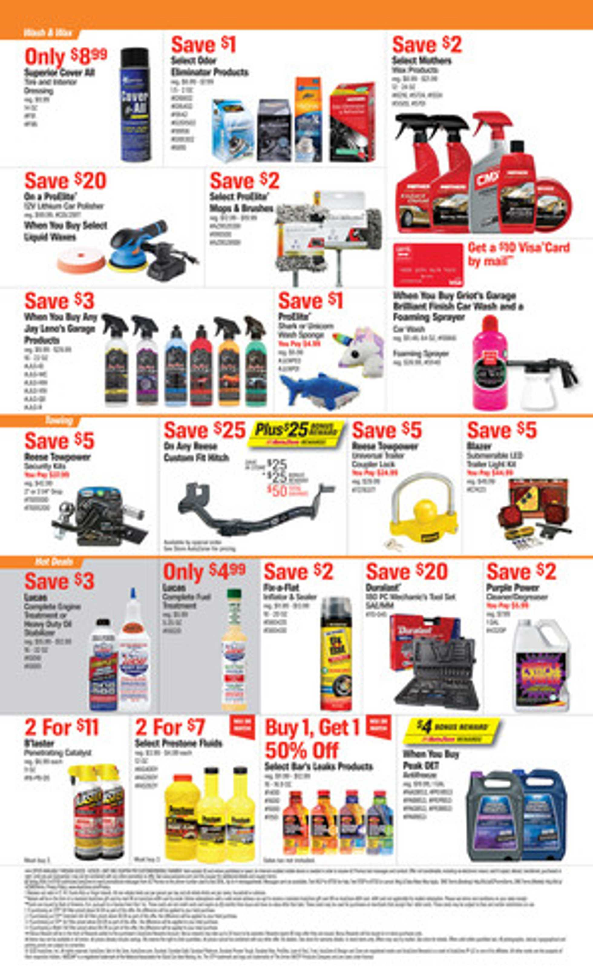 AutoZone - deals are valid from 06/02/20 to 06/29/20 - page 2.