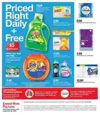 Target - deals are valid from 08/23/20 to 08/29/20 - page 24.