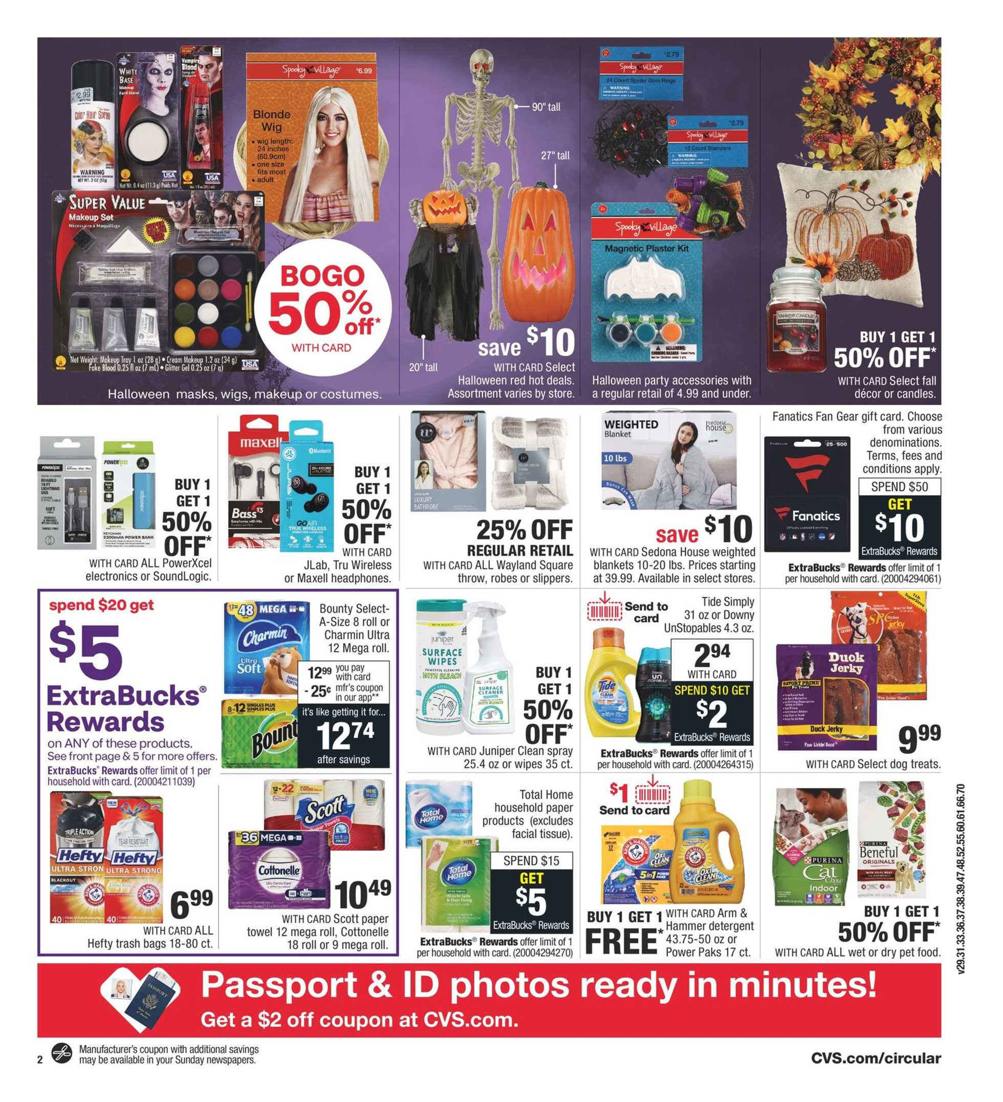 CVS - deals are valid from 10/11/20 to 10/17/20 - page 3.