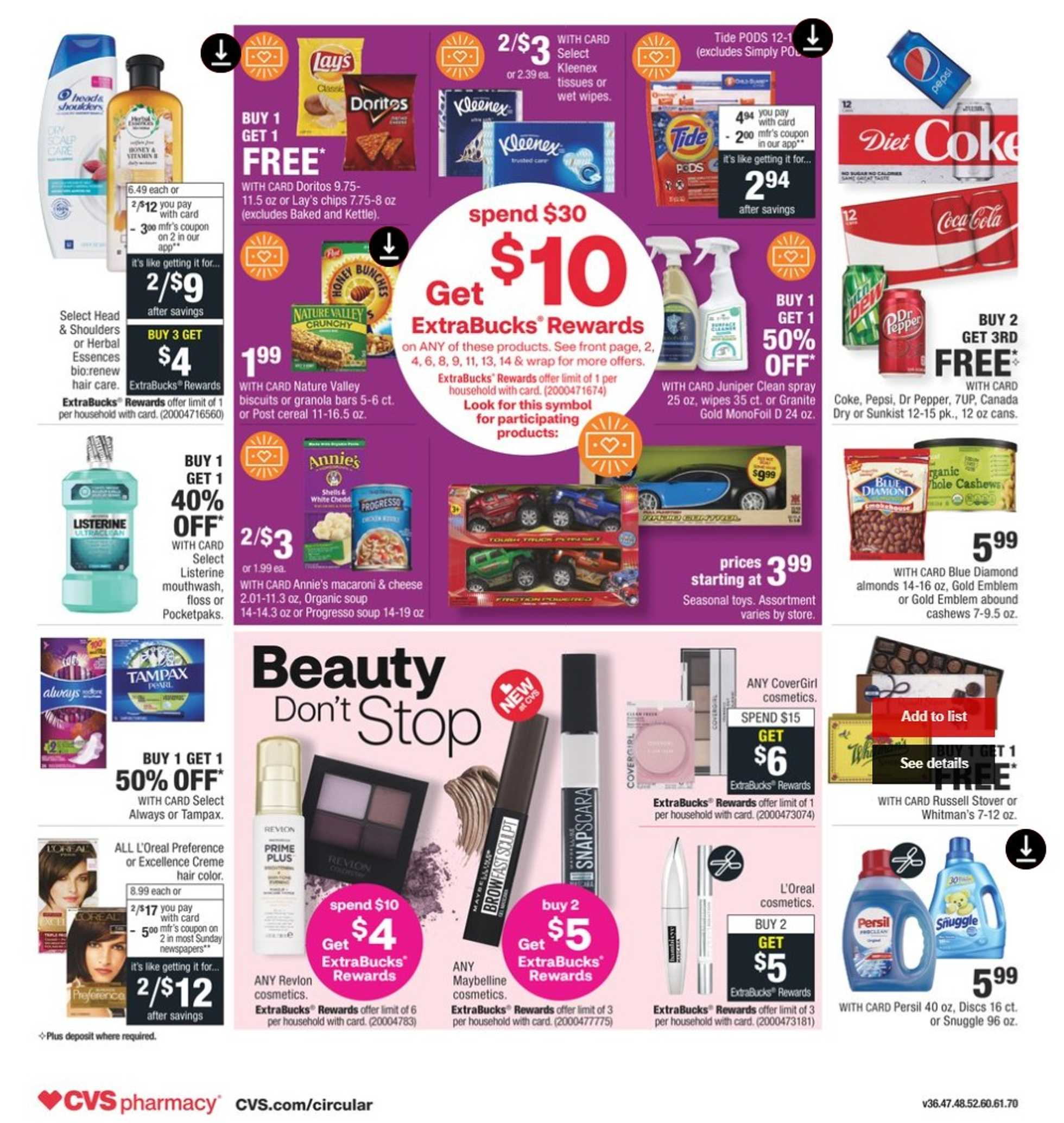 CVS - deals are valid from 11/15/20 to 11/21/20 - page 2.