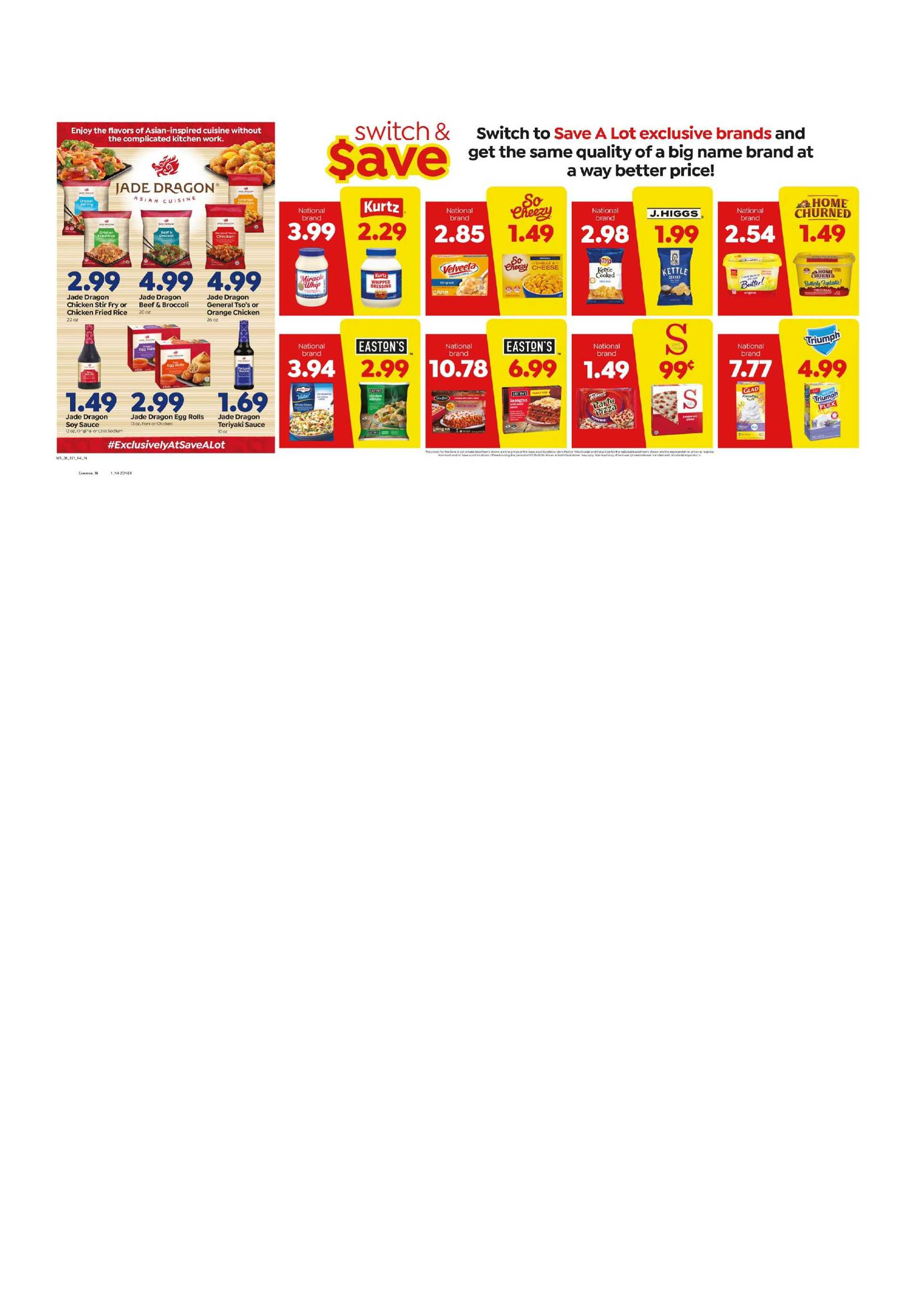 Save-A-Lot - deals are valid from 08/26/20 to 09/01/20 - page 2.