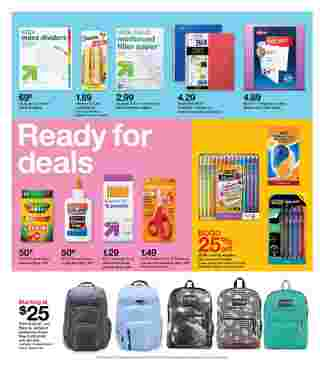 Target - deals are valid from 08/23/20 to 08/29/20 - page 5.