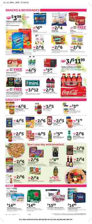 Stop & Shop - deals are valid from 08/14/20 to 08/20/20 - page 12.