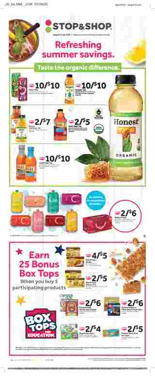 Stop & Shop - deals are valid from 08/14/20 to 08/20/20 - page 16.