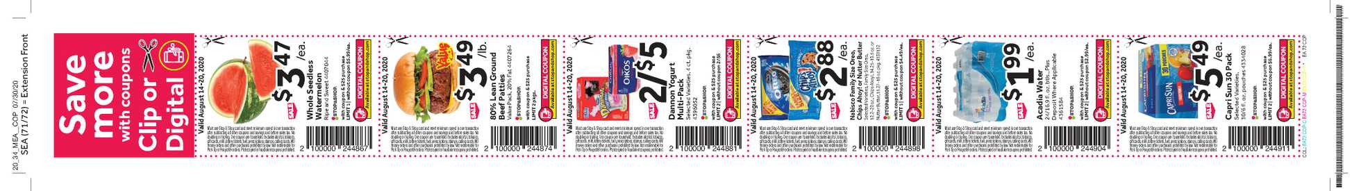Stop & Shop - deals are valid from 08/14/20 to 08/20/20 - page 4.