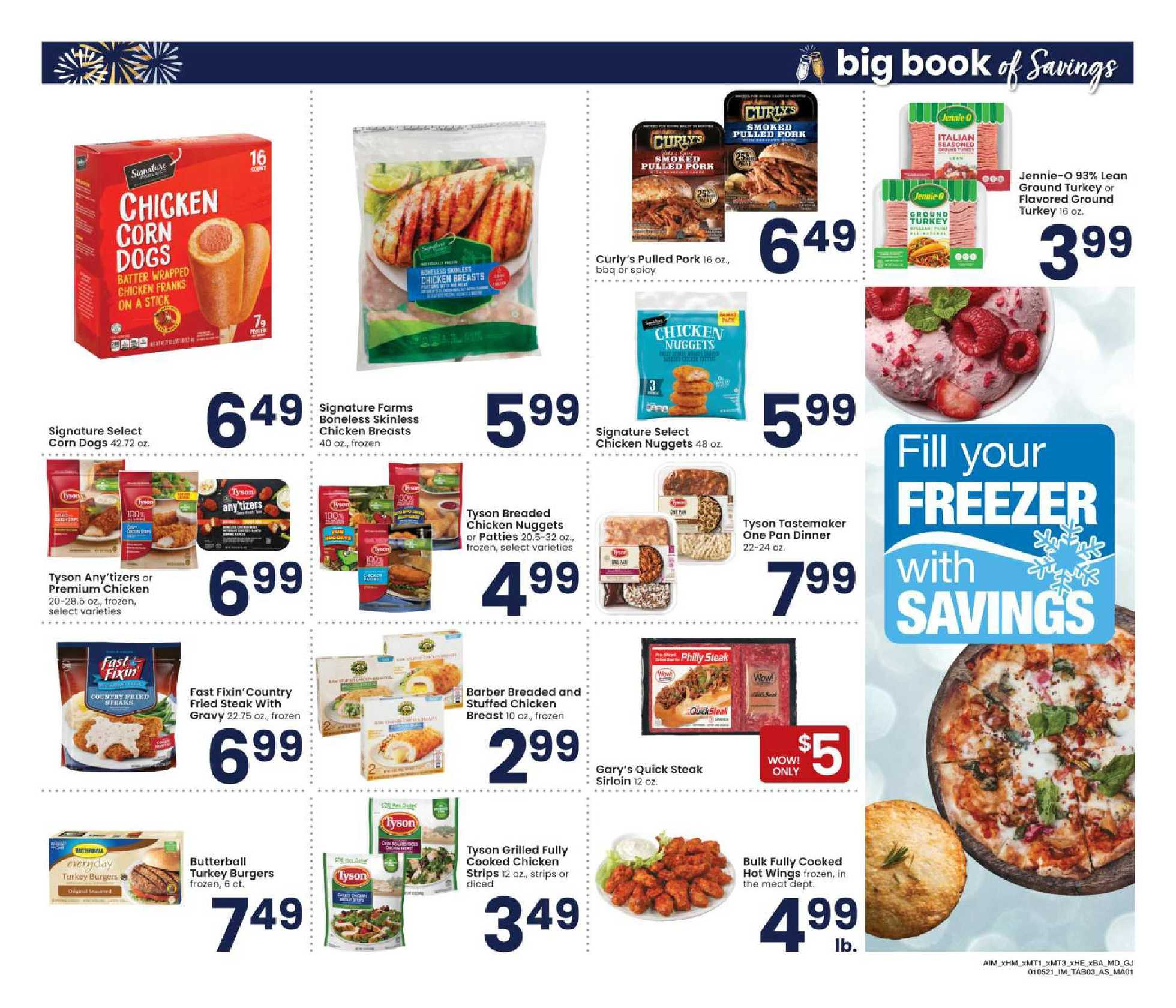 Albertsons - deals are valid from 01/05/21 to 02/01/21 - page 3.
