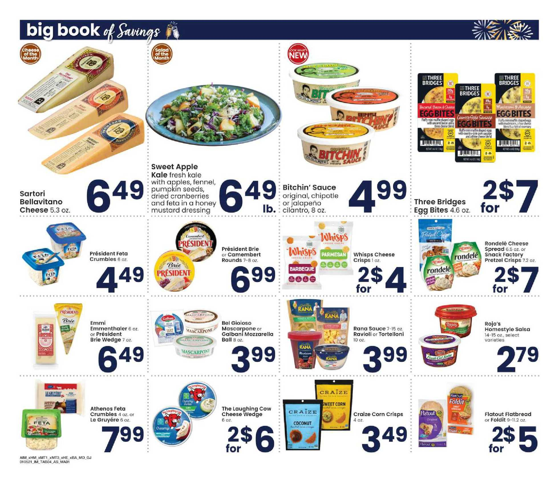 Albertsons - deals are valid from 01/05/21 to 02/01/21 - page 4.