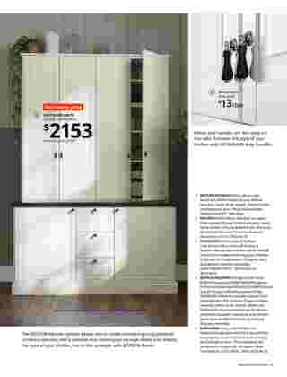 Ikea - deals are valid from 12/01/20 to 08/31/21 - page 51.