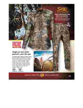 Bass Pro Shops - deals are valid from 09/01/19 to 12/28/19 - page 133.
