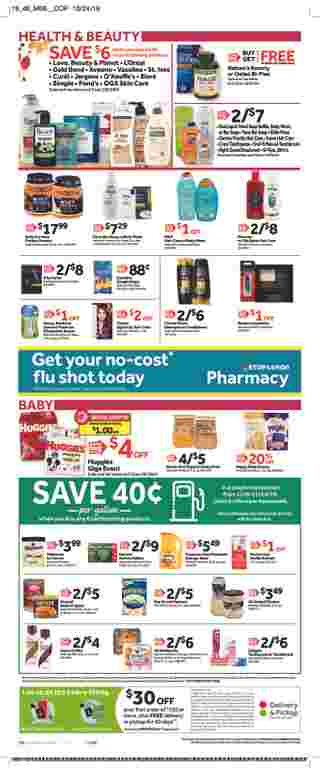 Stop & Shop - deals are valid from 11/08/19 to 11/14/19 - page 13.