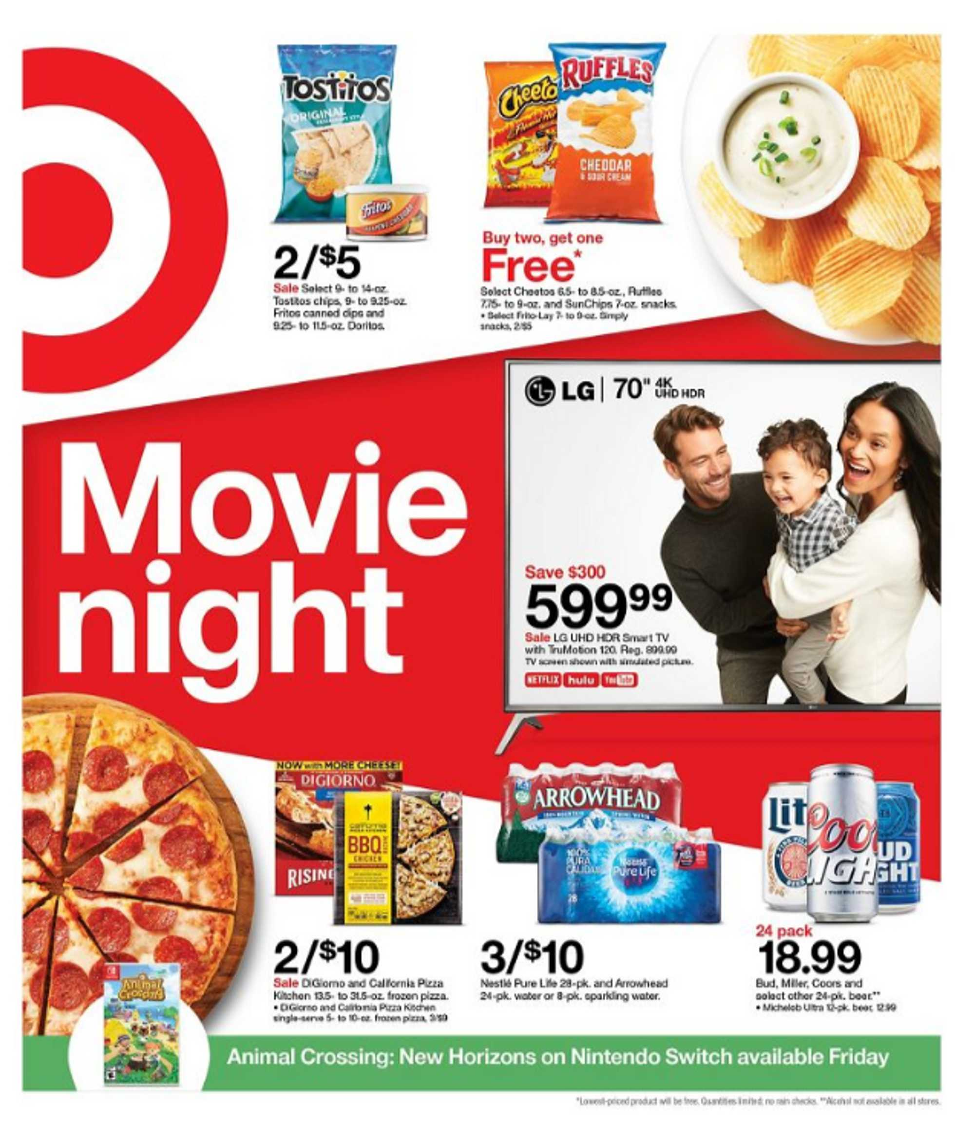 Target - deals are valid from 03/15/20 to 03/21/20 - page 1.
