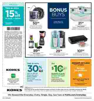 Kohl's - deals are valid from 03/13/20 to 03/22/20 - page 16.