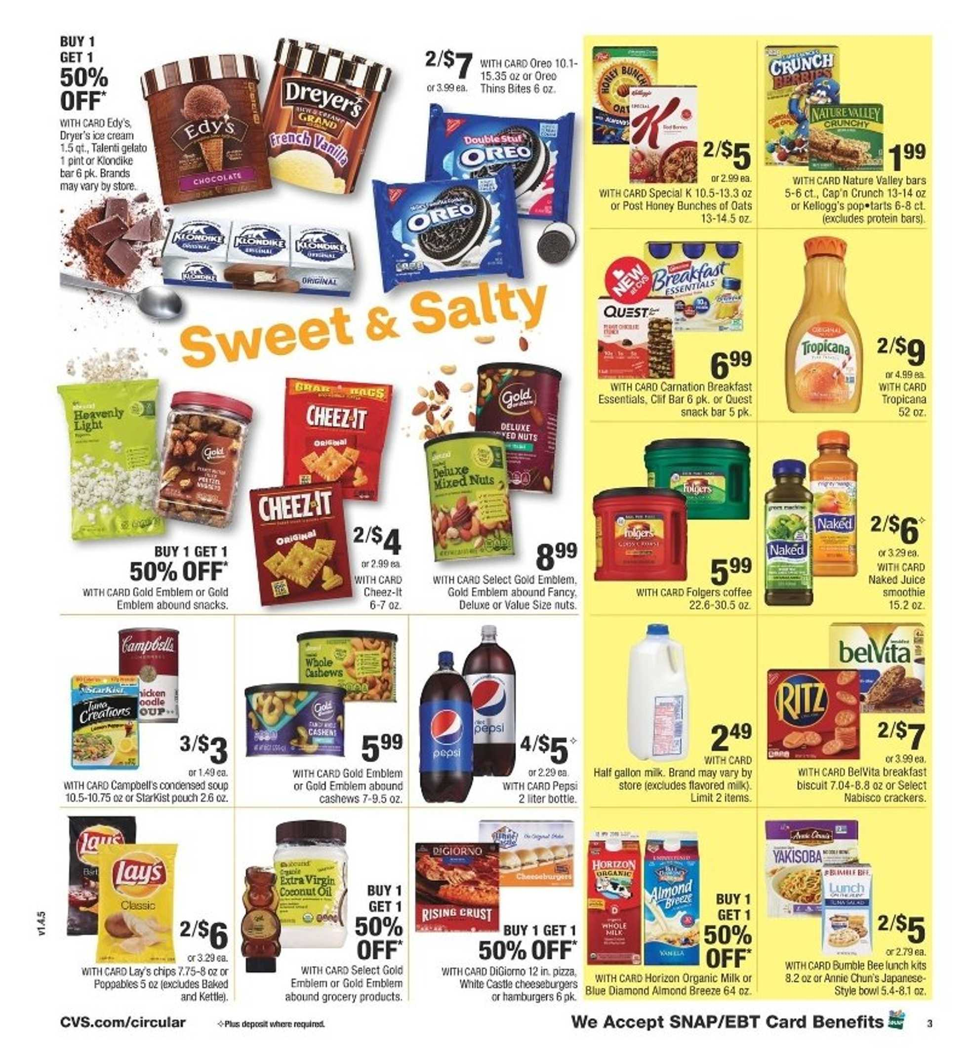 CVS - deals are valid from 07/05/20 to 07/11/20 - page 4.