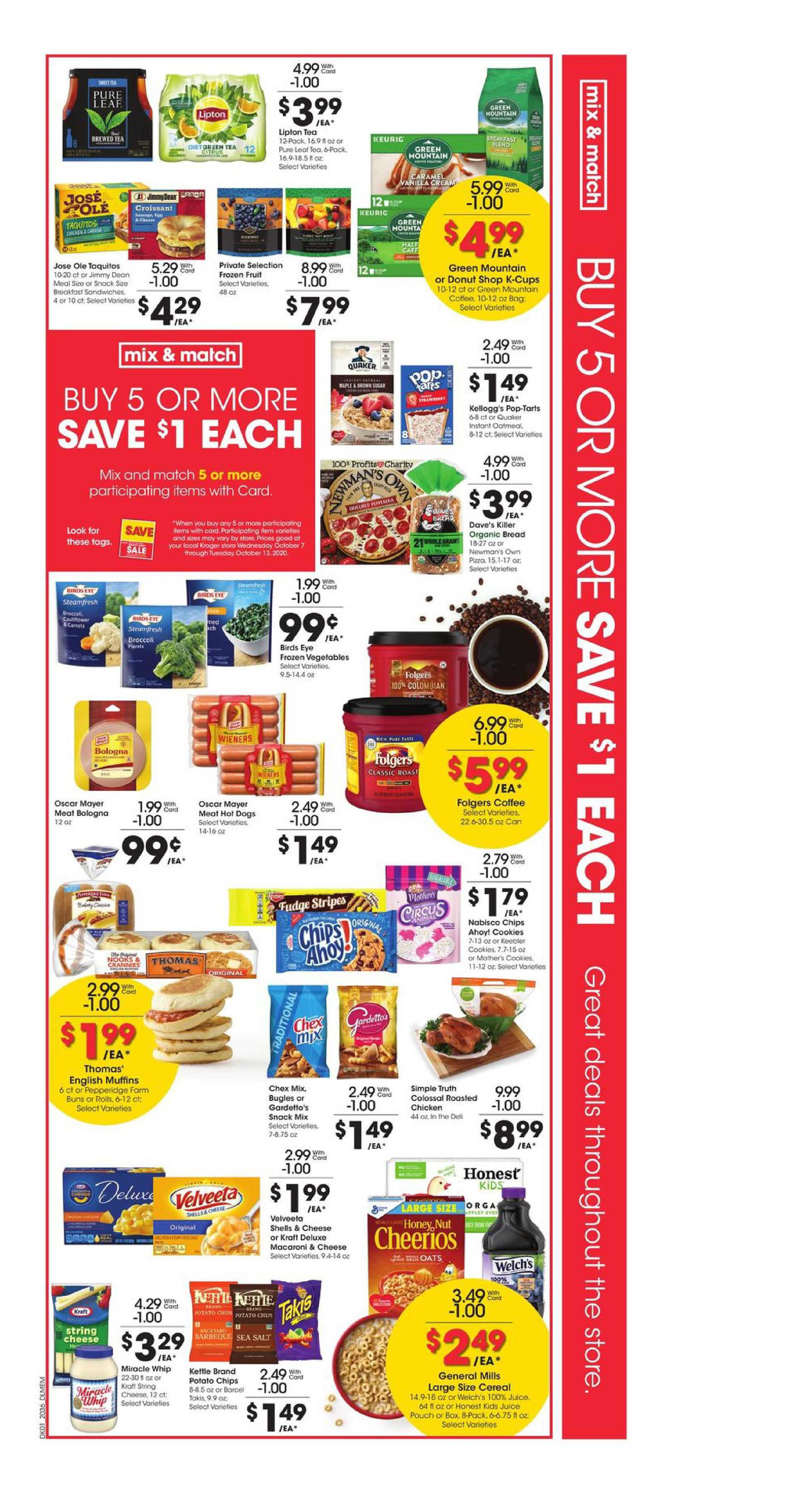 Kroger - deals are valid from 10/07/20 to 10/13/20 - page 2.