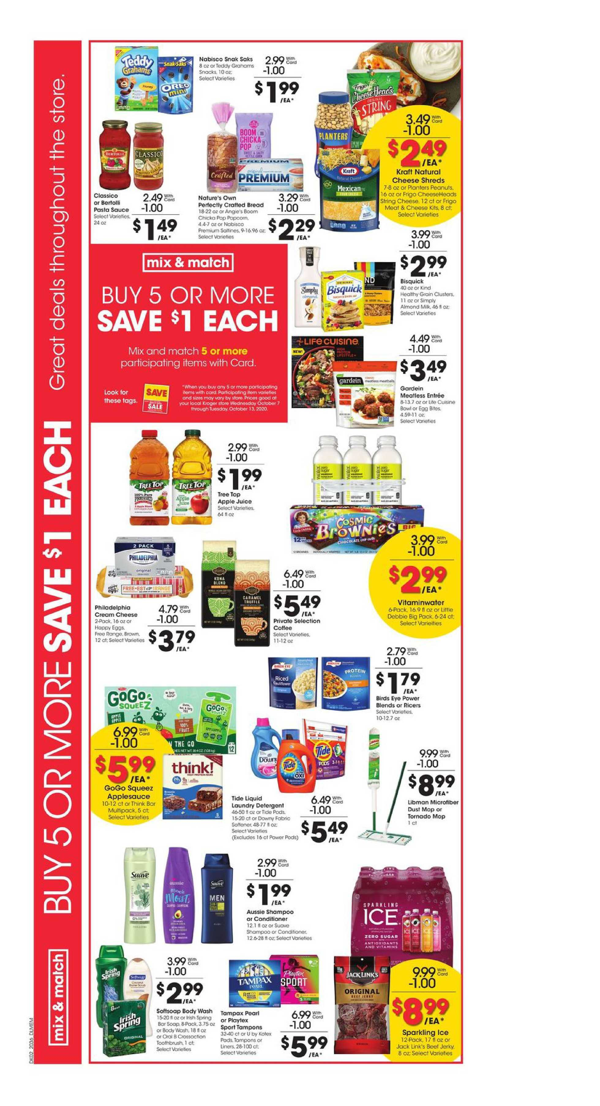 Kroger - deals are valid from 10/07/20 to 10/13/20 - page 3.