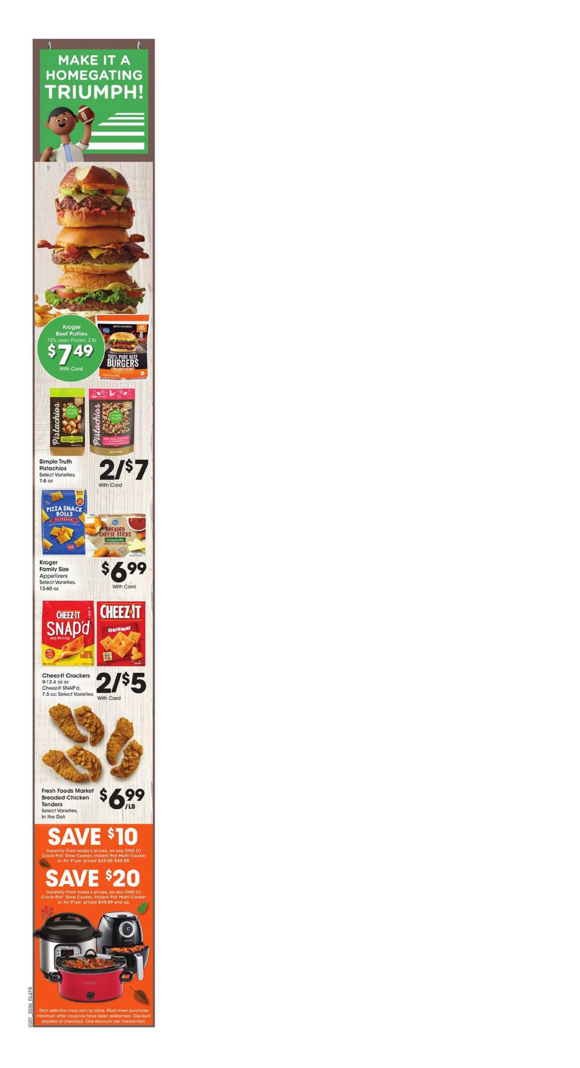 Kroger - deals are valid from 10/07/20 to 10/13/20 - page 4.