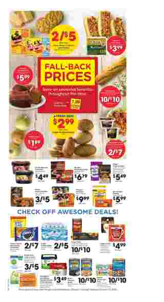 Kroger - deals are valid from 10/07/20 to 10/13/20 - page 8.