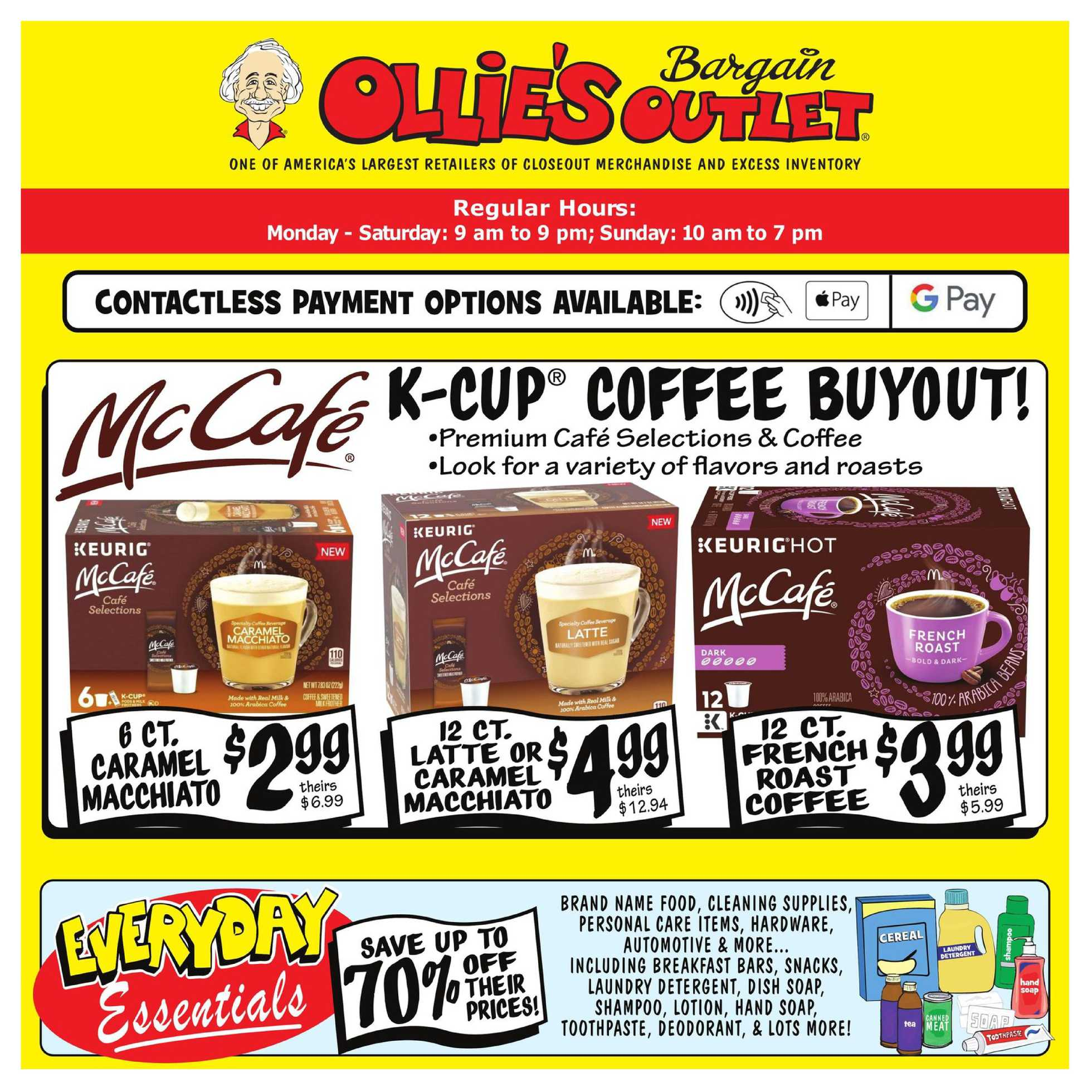 Ollie's Bargain Outlet - deals are valid from 07/09/20 to 07/15/20 - page 1.