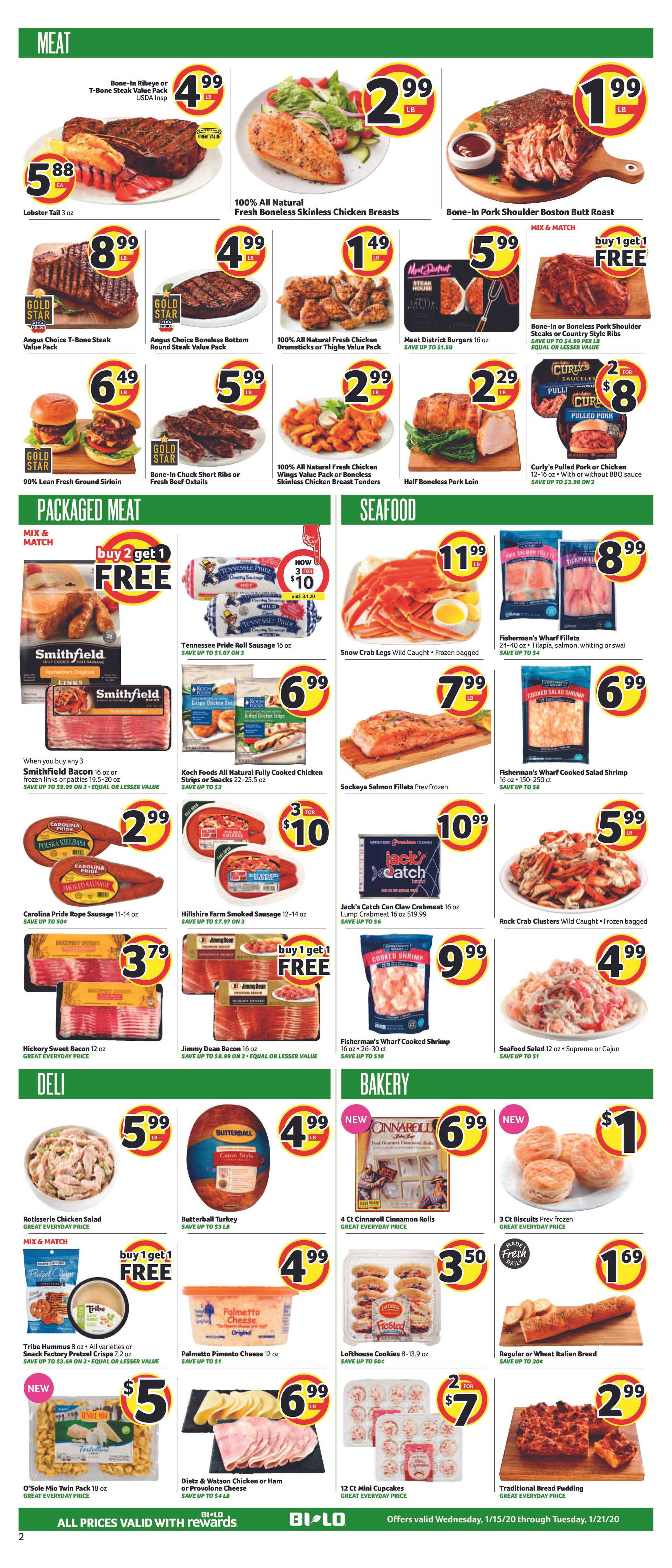BILO - deals are valid from 01/15/20 to 01/21/20 - page 2.