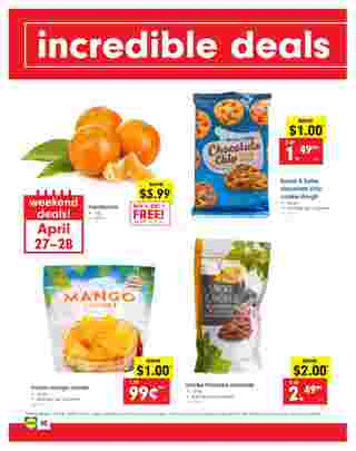 Lidl - deals are valid from 04/24/19 to 04/30/19 - page 30.