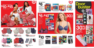 Target - promo starting from 11/28/19 to 11/30/19 - page 20. The promotion includes hana, harrys, fruit