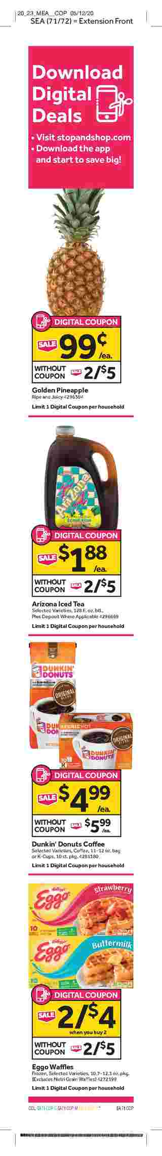 Stop & Shop - deals are valid from 05/29/20 to 06/04/20 - page 11.