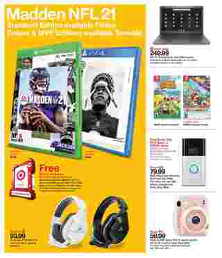 Target - deals are valid from 08/23/20 to 08/29/20 - page 7.