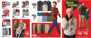 Target - promo starting from 11/28/19 to 11/30/19 - page 18. The promotion includes sherpa, rea, cat