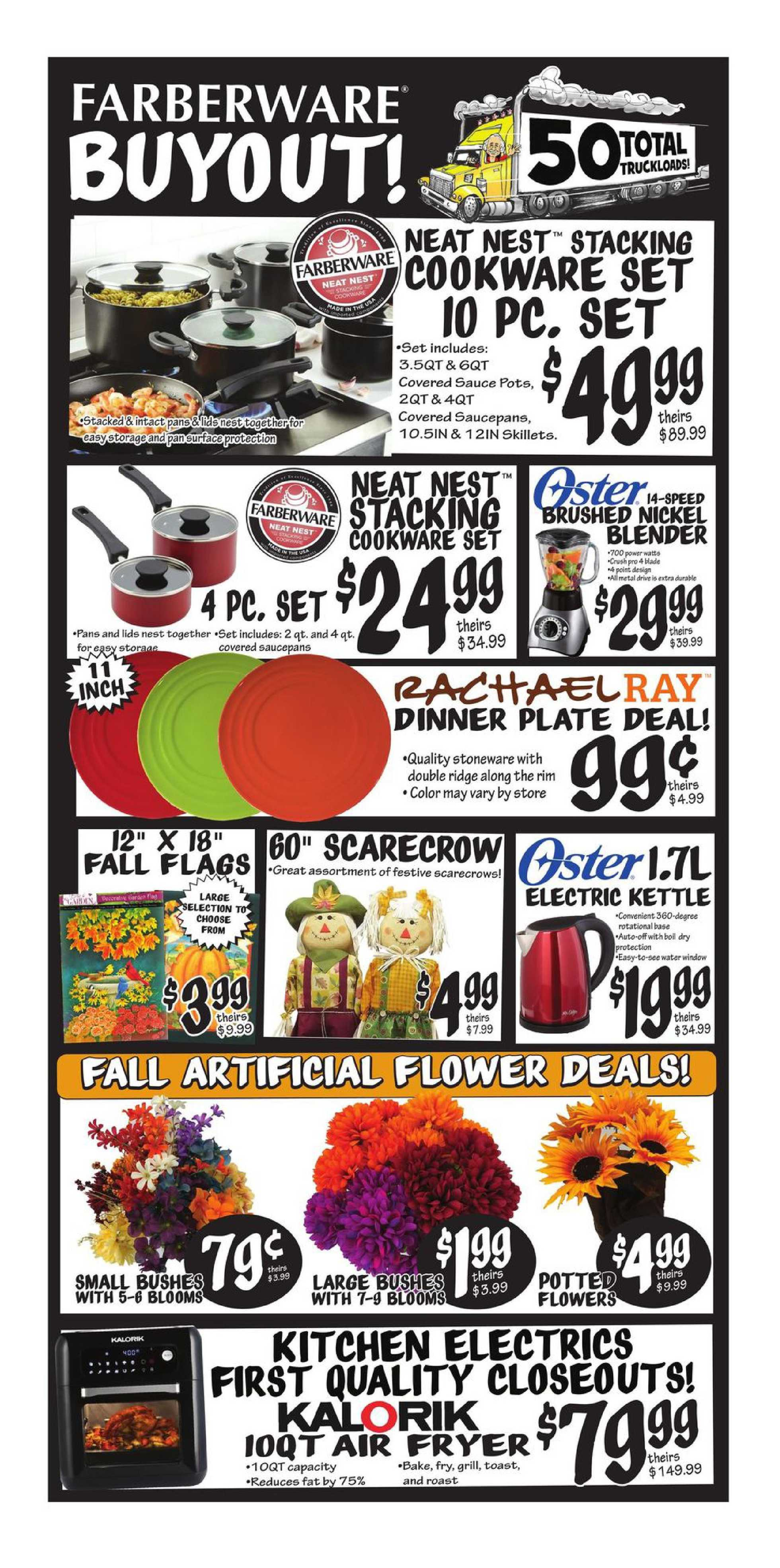 Ollie's Bargain Outlet - deals are valid from 08/23/20 to 10/03/20 - page 3.