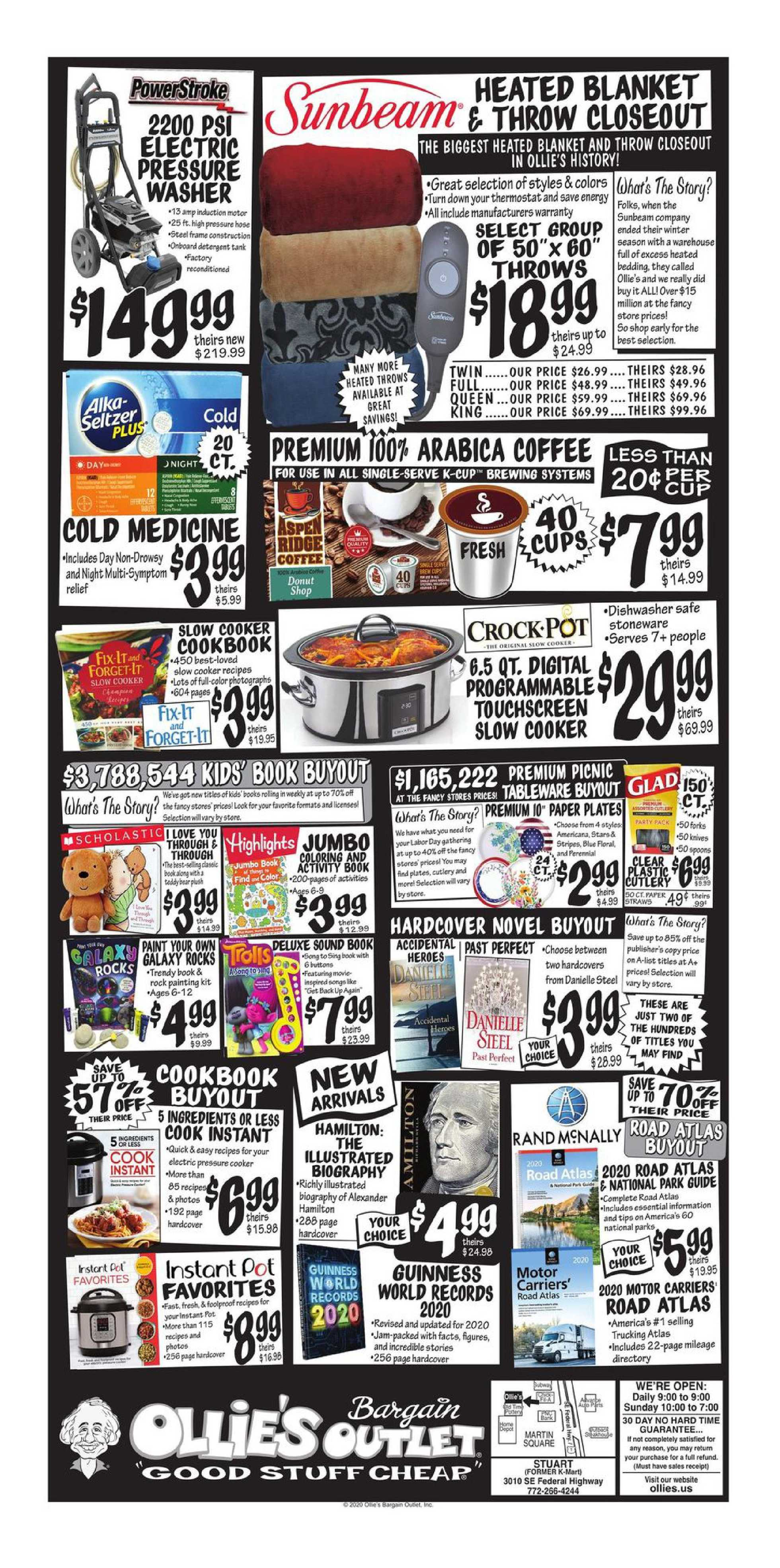 Ollie's Bargain Outlet - deals are valid from 08/23/20 to 10/03/20 - page 4.