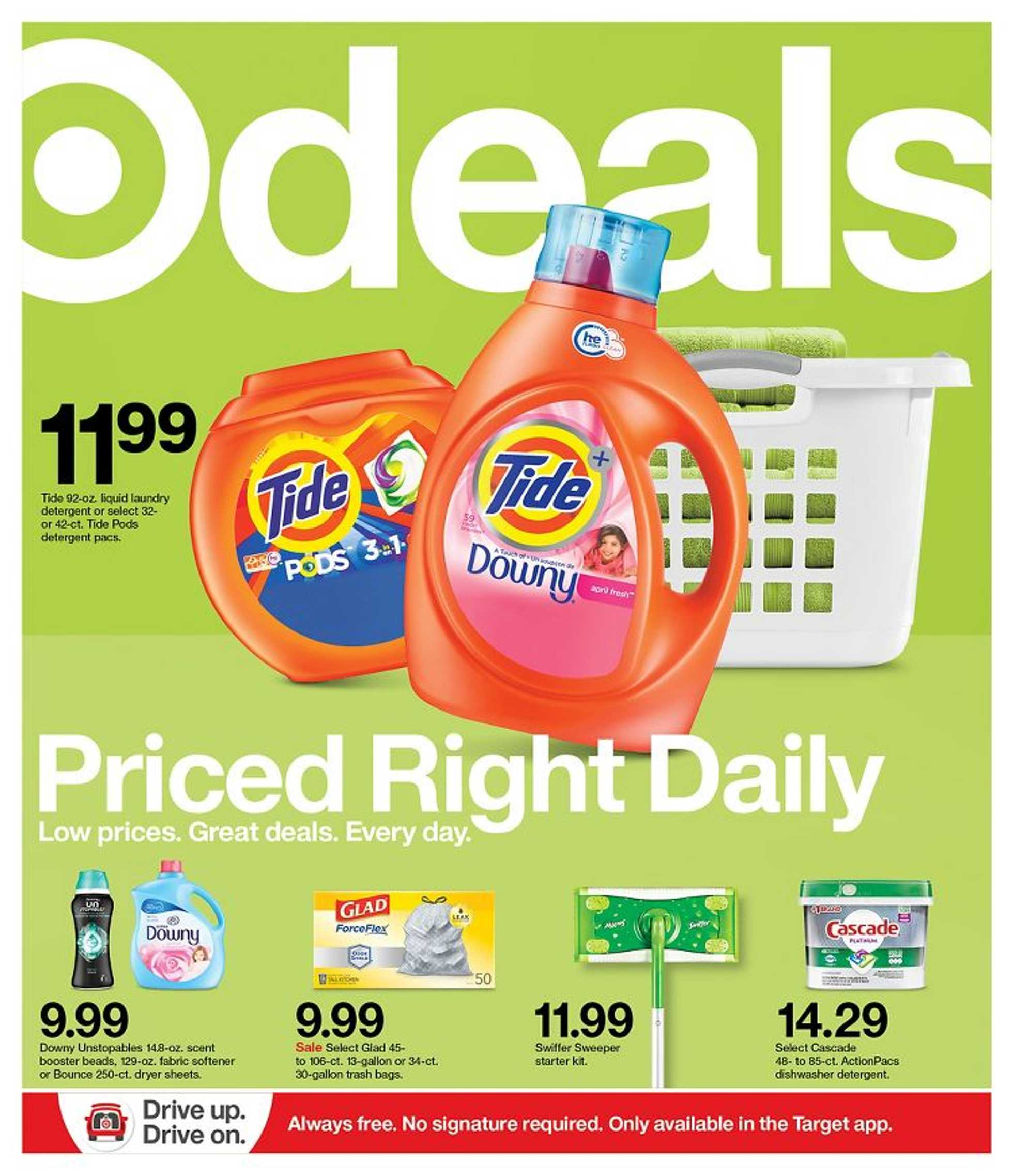 Target - deals are valid from 09/06/20 to 09/12/20 - page 1.