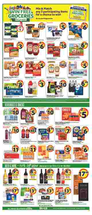 BILO - deals are valid from 01/15/20 to 01/21/20 - page 7.