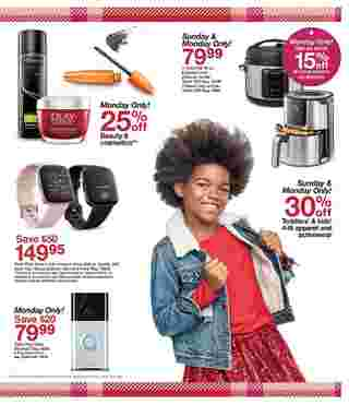 Target - deals are valid from 12/01/19 to 12/07/19 - page 7.