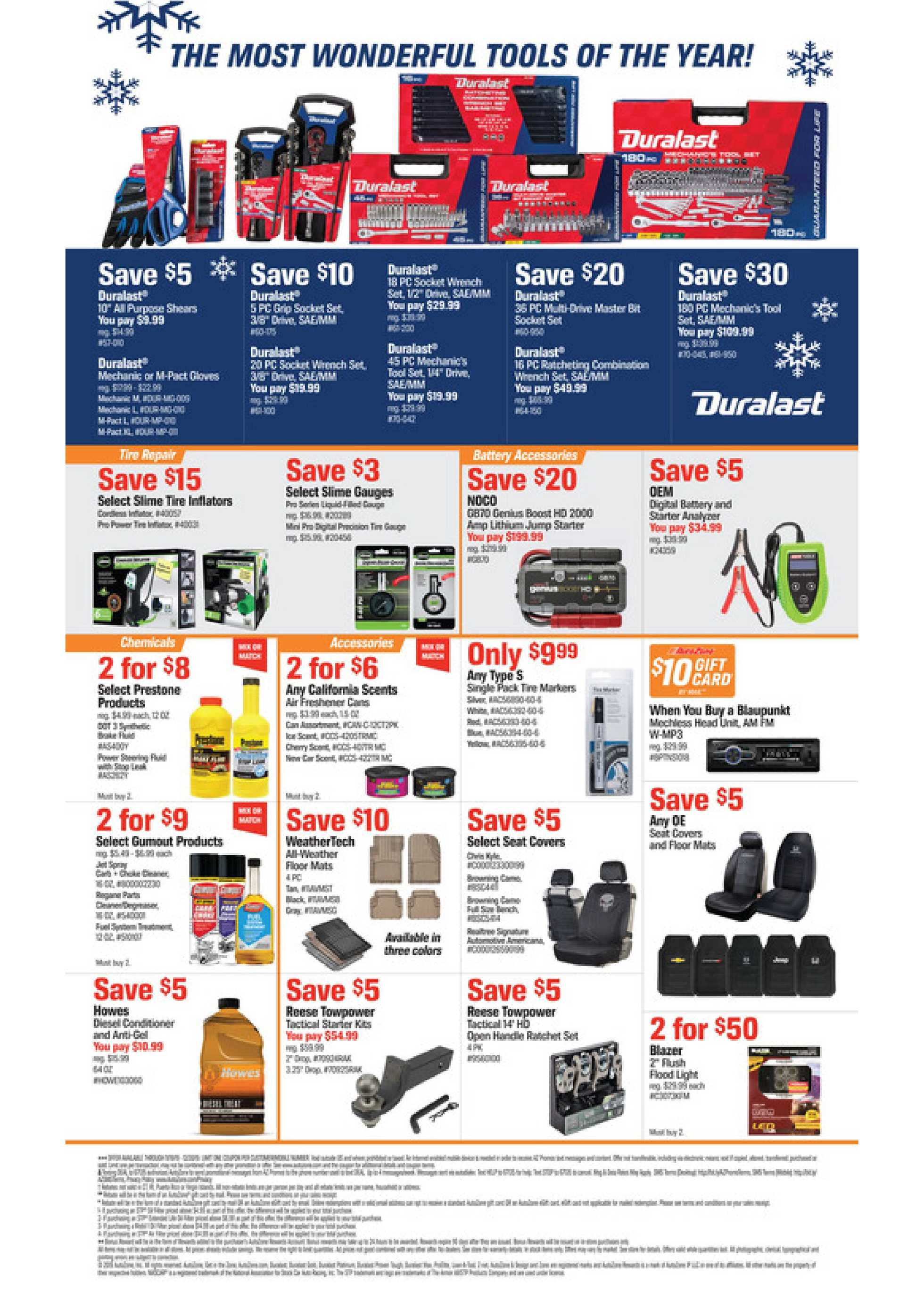 AutoZone - deals are valid from 11/19/19 to 12/30/19 - page 2.