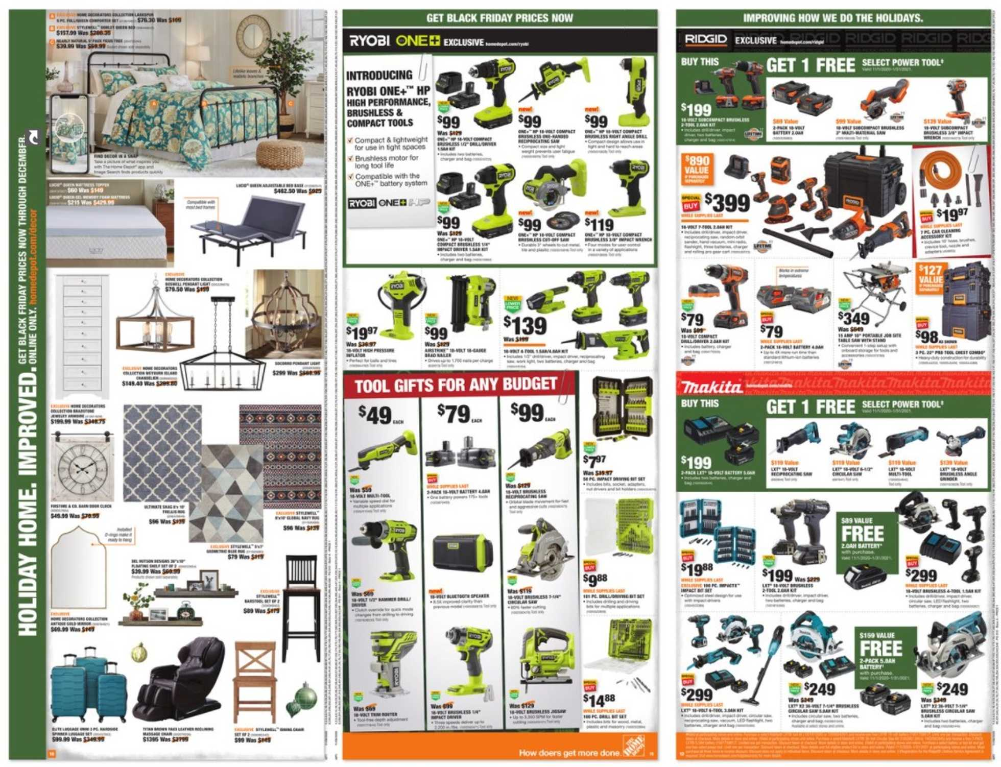 The Home Depot - deals are valid from 11/08/20 to 12/02/20 - page 4.