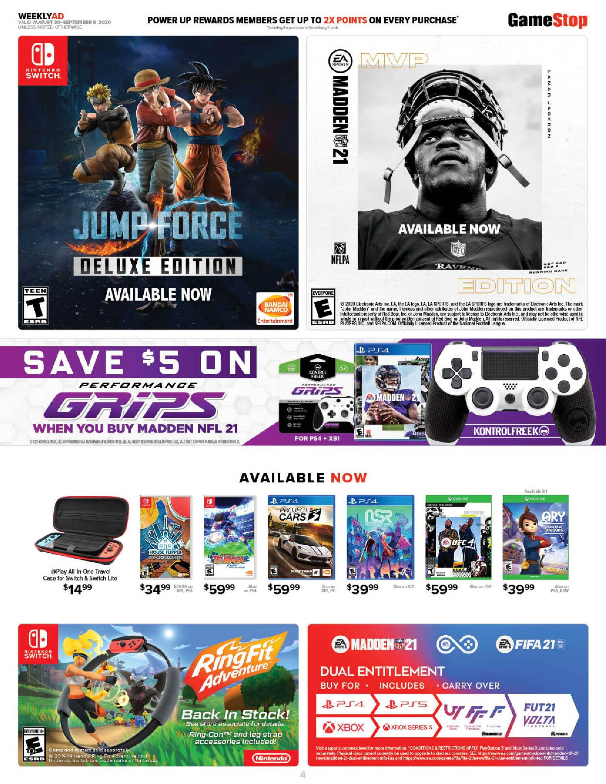 GameStop - deals are valid from 08/30/20 to 09/05/20 - page 4.