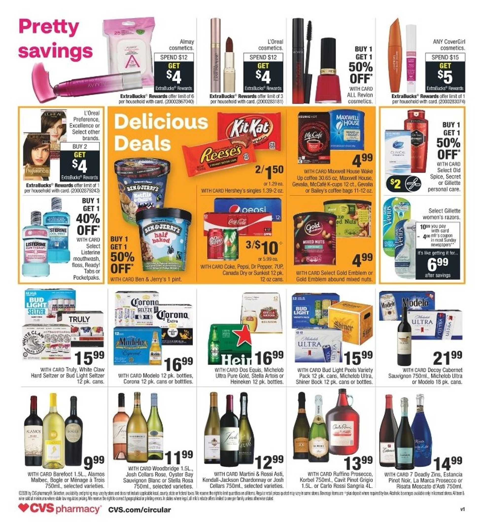 CVS - deals are valid from 07/05/20 to 07/11/20 - page 2.