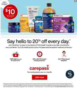 CVS - deals are valid from 11/15/20 to 11/21/20 - page 10.
