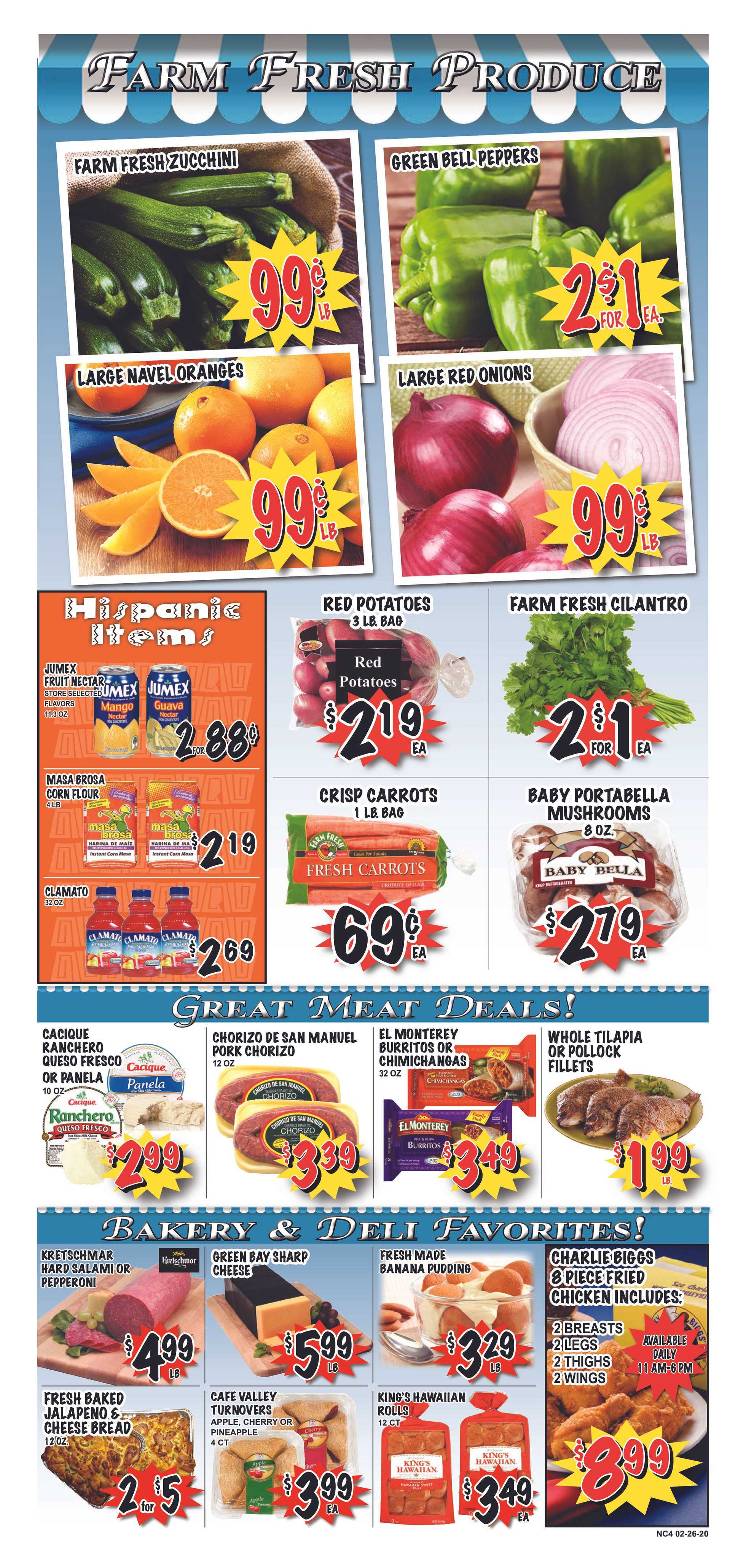 Market Place - deals are valid from 02/26/20 to 03/03/20 - page 4.