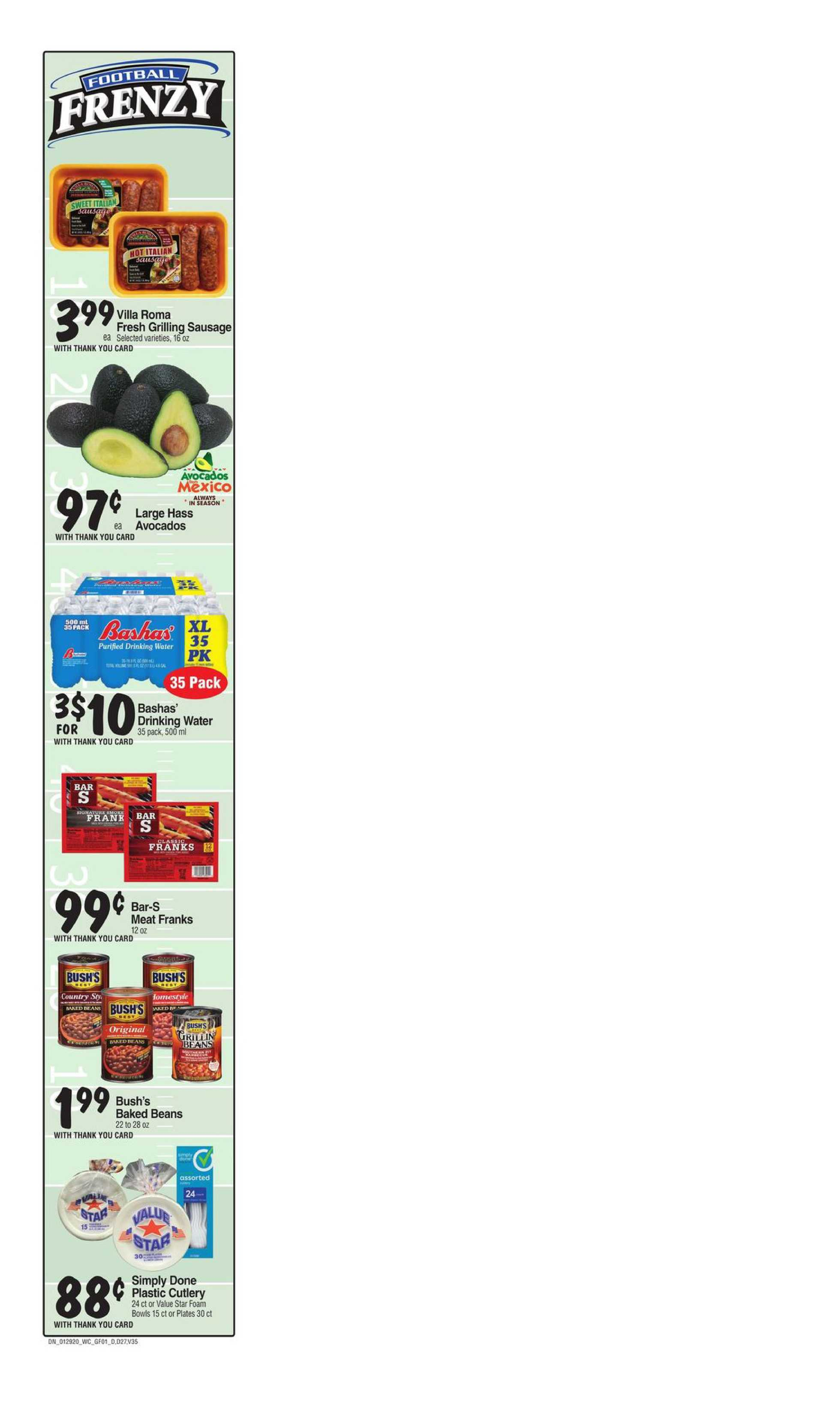 Bashas - deals are valid from 01/29/20 to 02/04/20 - page 1.