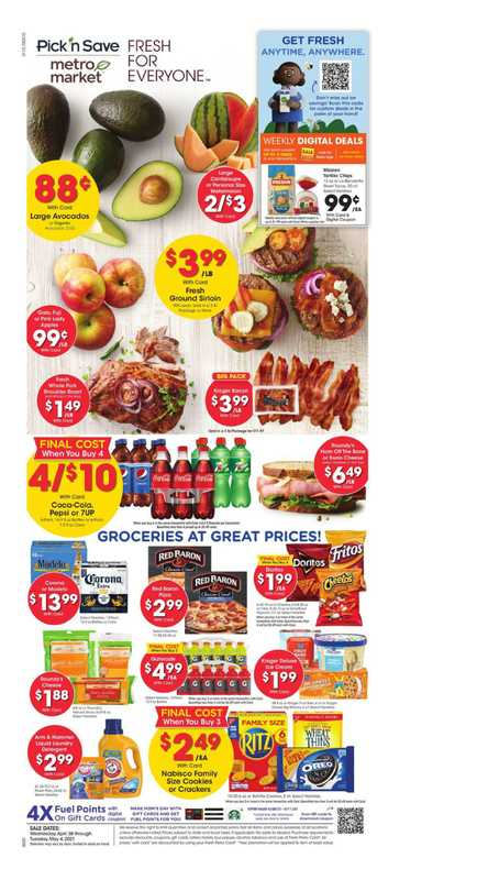 Pick n Save - deals are valid from 04/28/21 to 05/04/21 - page 1.