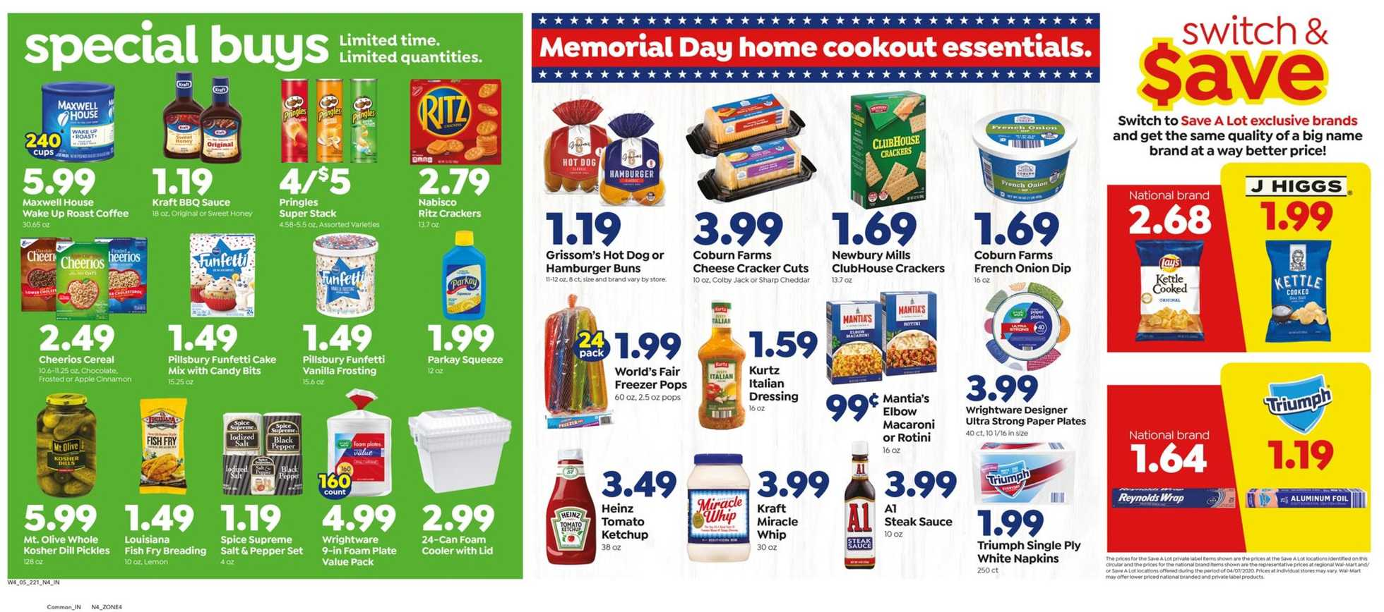 Save-A-Lot - deals are valid from 05/20/20 to 05/26/20 - page 2.
