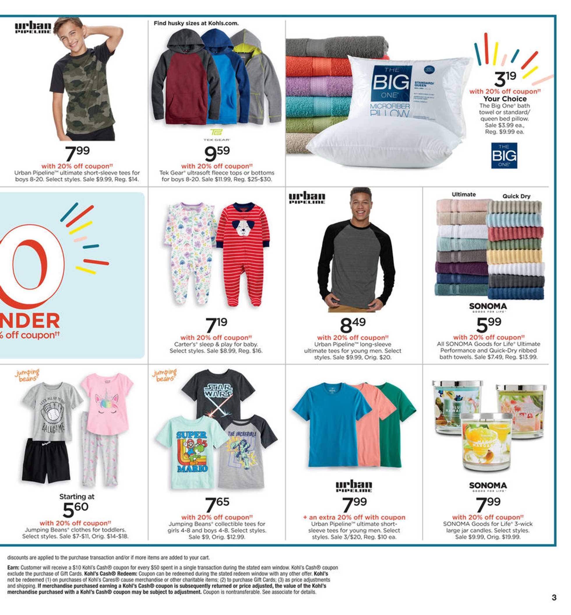 Kohl's - deals are valid from 02/20/20 to 02/23/20 - page 3.