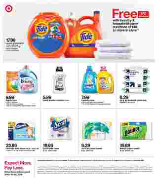 Target - deals are valid from 06/16/19 to 06/22/19 - page 21.