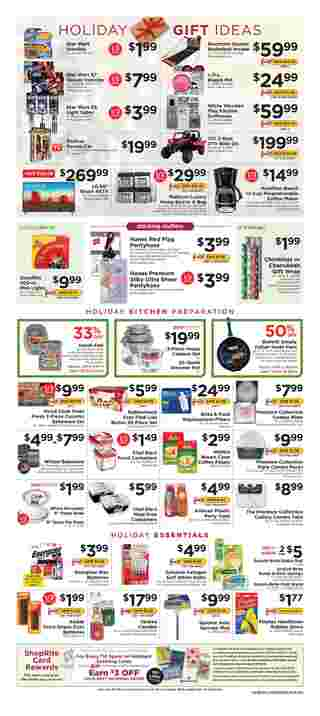 ShopRite - promo starting from 12/15/19 to 12/21/19 - page 11.