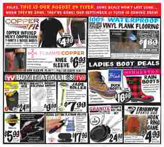Ollie's Bargain Outlet - deals are valid from 08/29/19 to 09/05/19 - page 7.