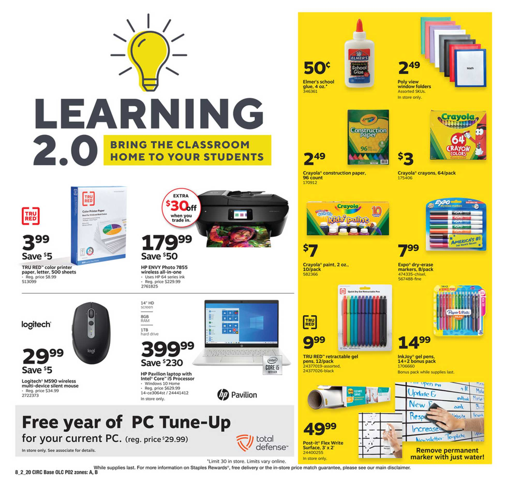 Staples - deals are valid from 08/02/20 to 08/08/20 - page 2.