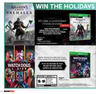 GameStop - deals are valid from 10/21/20 to 01/01/21 - page 25.