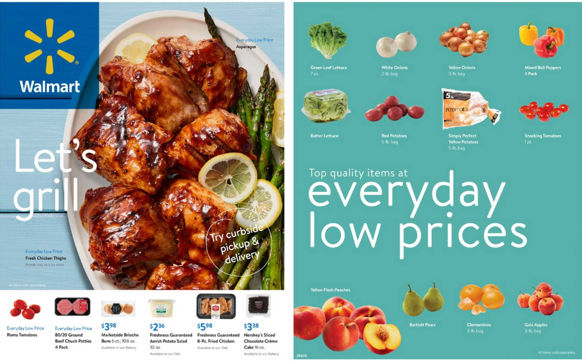 Walmart - deals are valid from 07/29/20 to 09/01/20 - page 1.